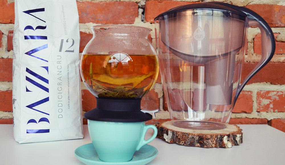 Jakość wody ma ogromny wpływ na smak kawy