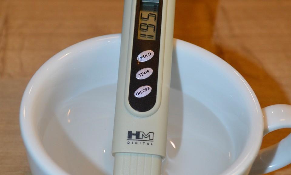 Test jakości wody