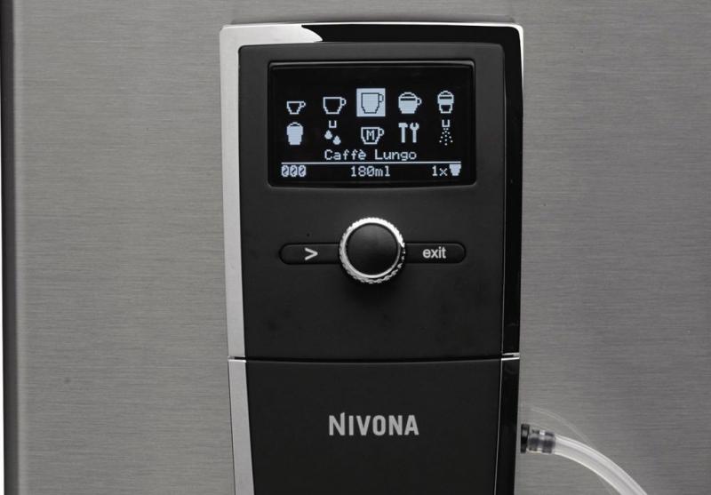 Obsługa utmatycznego ekspresu do kawy marki Nivona