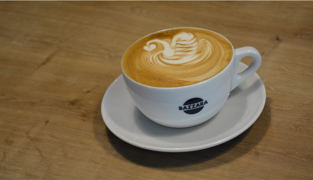 Latte art, sztuka malowania na kawie