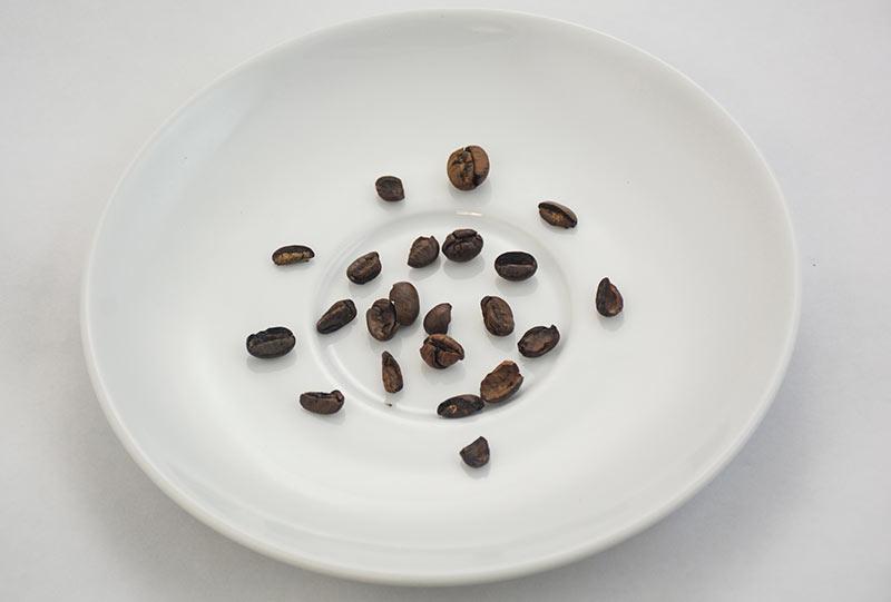 Kawa słabej jakości