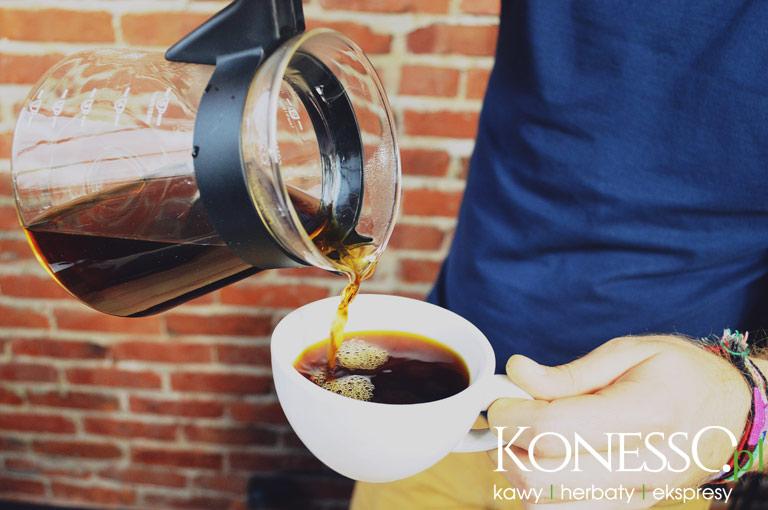 Kawa zaparzona w drippie