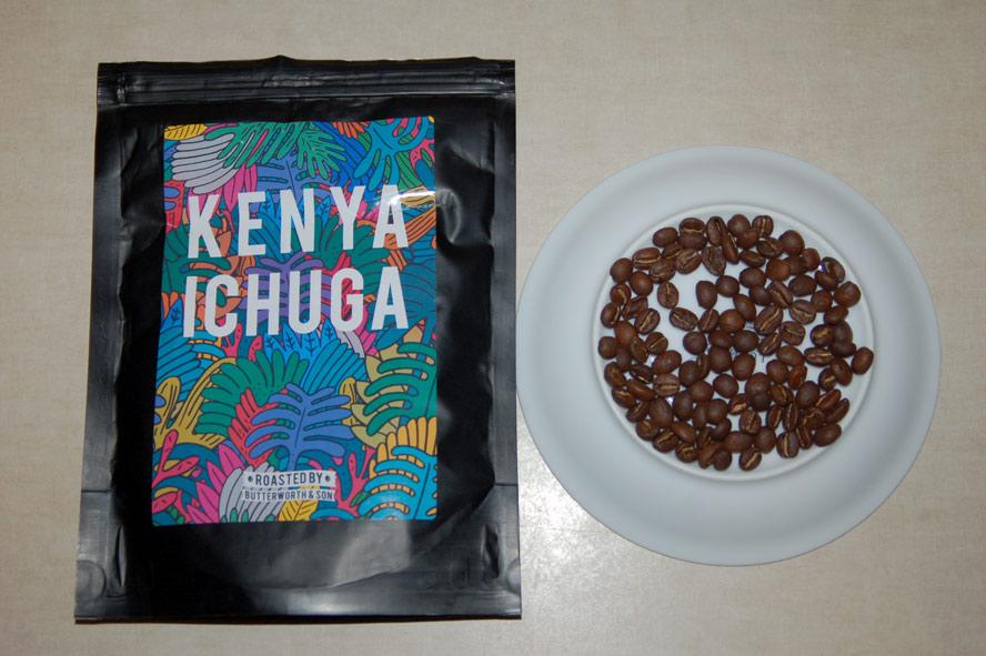 Kawa ziarnista Butterworth&Son Kenya