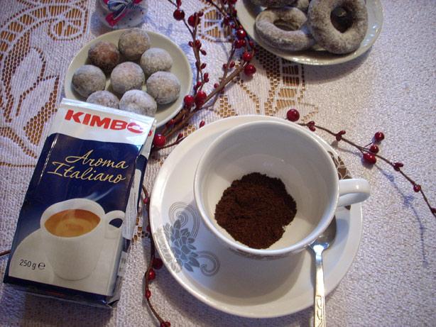 Kawa mielona Kimbo aroma italiano