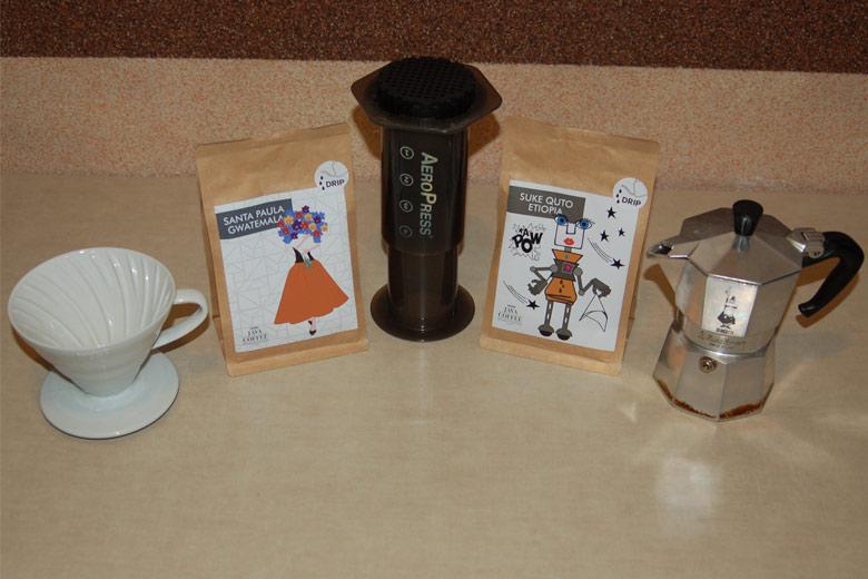 Porównanie kaw z palarni Java