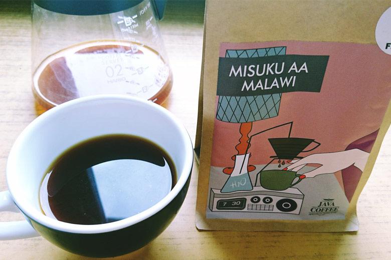 Kawa ziarnista Malawi Misuku