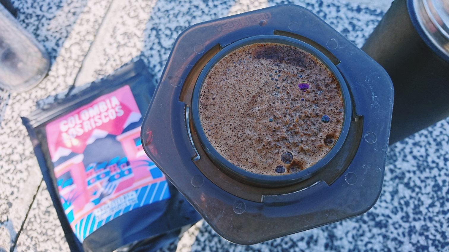 Kawa Butterworth parzona w aeropressie