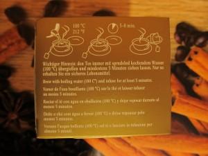 Instrukcja przygotowania herbaty
