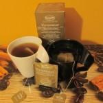 Herbata Rooibos Winterdream    – pobudza korzennym smakiem i wprowadza w świąteczny nastrój