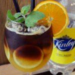 Espresso z tonikiem i sokiem pomarańczowym